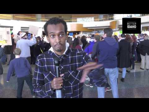 Somali refugee in Boise tells it like it is post Trump EO (Mirror)