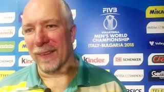 Mark Lebedew, allenatore dell'Australia dopo Australia-Slovenia 3-2 (ENG)