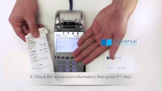 VX520 Terminal Instruction (English)
