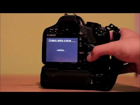 Canon EOS 450D - Firmware-Update (1.0.9 - 1.1.0)