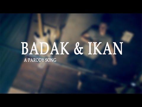 Penyiar radio dan pendengar radio (part1) BADAK DAN IKAN ( Treet you Better )  - SHAWN MENDES PARODY