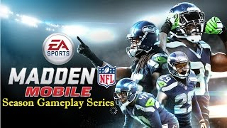 Madden Mobile, Road to the super bowl. (Not paying attention) PT.3