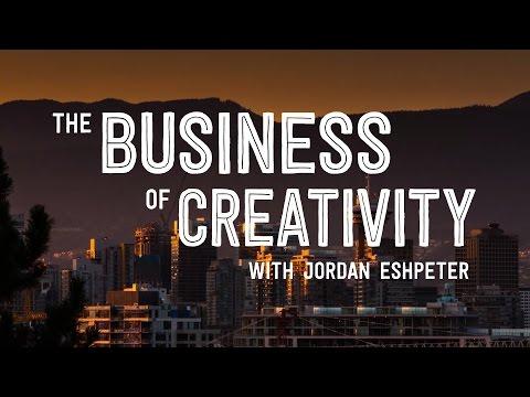 Jordan Eshpeter on the business of creativity