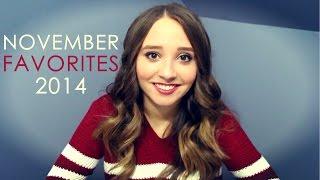 November Favorites 2014! - Ali Brustofski