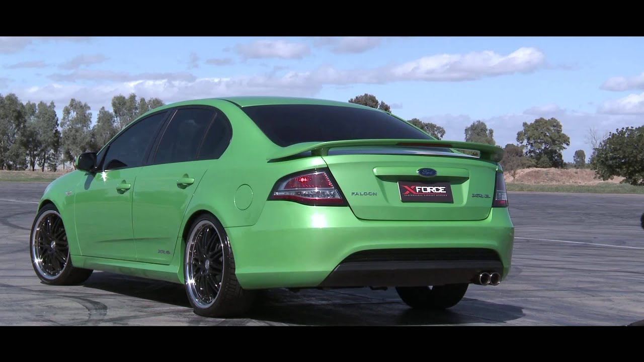 Xforce Ford Falcon Fg Xr6 Performance Exhaust System