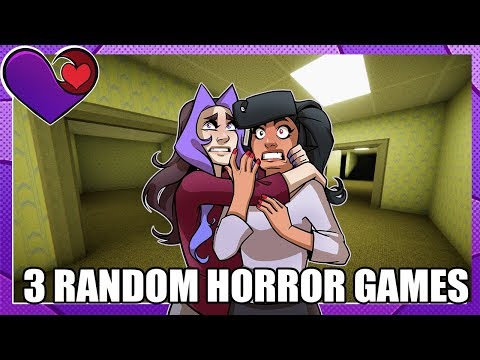 WE ESCAPED THE BACKROOMS? - 3 Random Horror Games