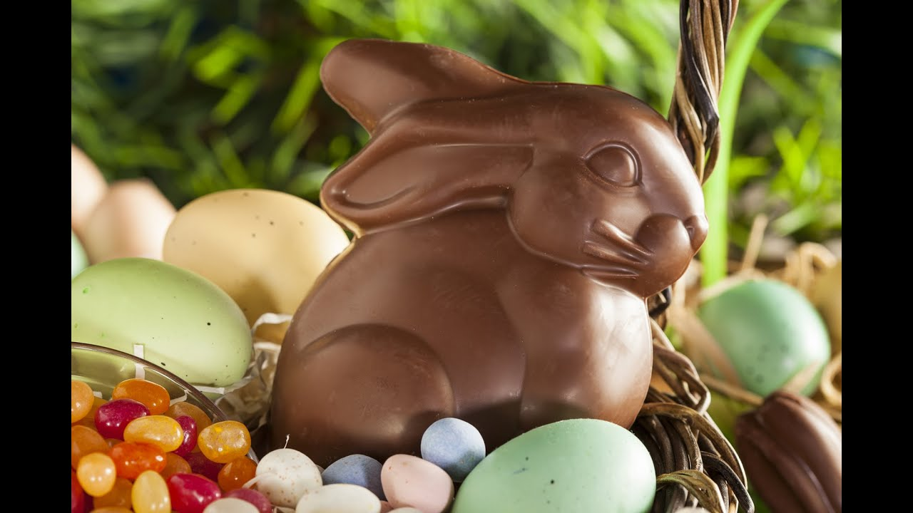 How To Make a Chocolate Easter Bunny - YouTube