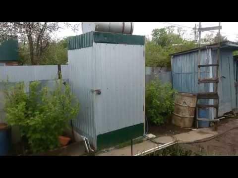 Как сделать летний душ на даче с подогревом Фазенда