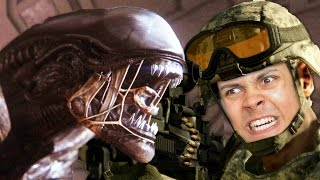 SOLDIERS VS ALIENS - Polaris Civil War (Natural Selection 2)