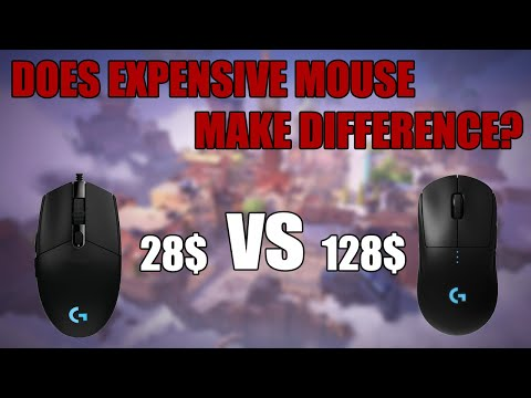 $28 Mouse VS $128 Mouse. | Does expensive mouse make a difference? | My own experience.