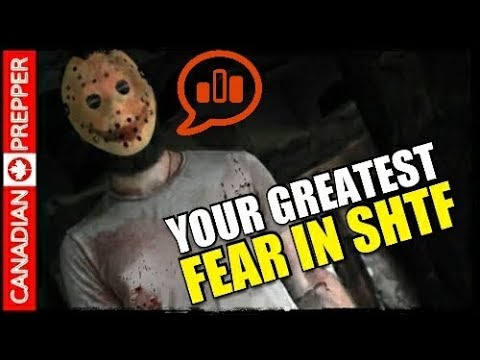 Your Greatest Fear in SHTF: Prepping Polls