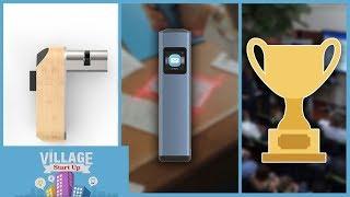 VILLAGE STARTUP : une serrure ultra-sécurisée, un scanner de poche, les concours de start-ups