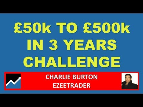 £50k to £500k in 3 Years Trading Challenge, Charlie Burton,