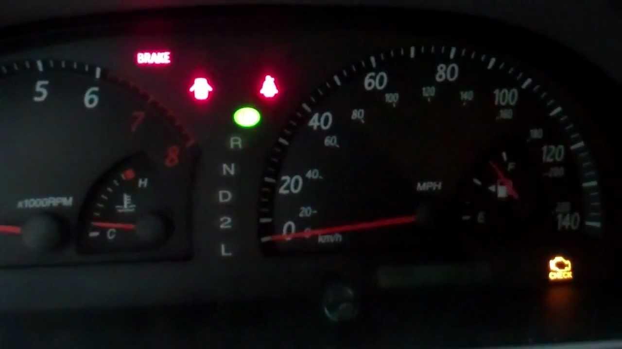 Toyota Matrix 2006 Check Engine Light Mouthtoears Com