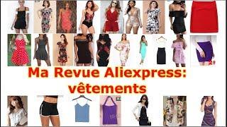 Ma revue aliexpress: vêtements (haul robes, short, combi, top, veste)