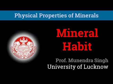 Habit | Physical Properties of Minerals (2/10)