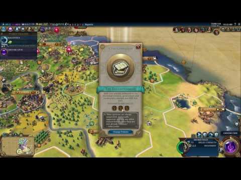 Civilization VI: Australia, Deity, Cultural Victory #05