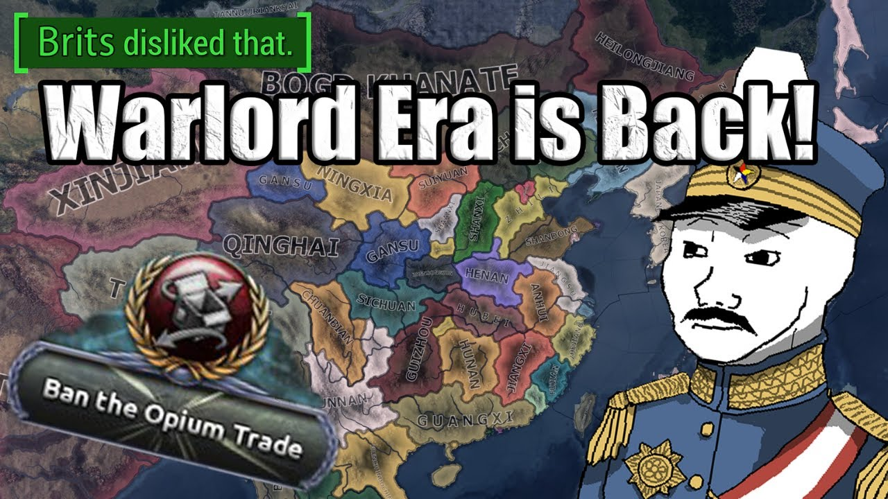 Hearts of Iron 4 Warlord Era is Back!