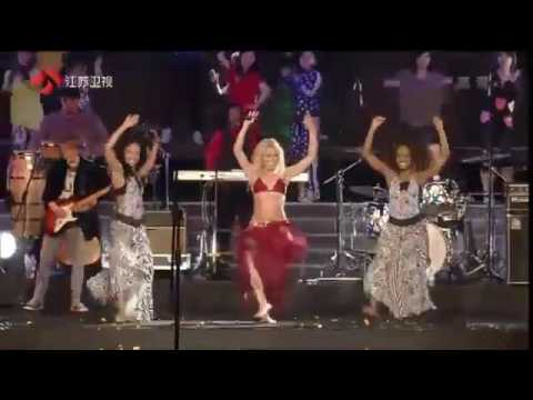 Shakira   Waka Waka  China Concert HD 360p