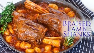 Braised Lamb Shanks With Gnocchi