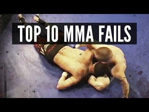 Top 10 MMA Fails