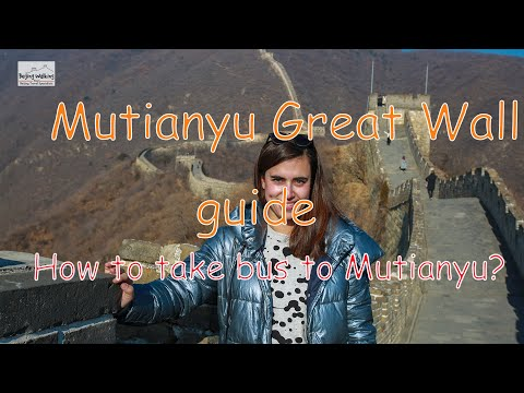 How to get to Mutianyu Great wall ? Super easy!
