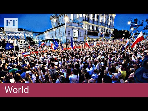Poland demos over judiciary bill | World