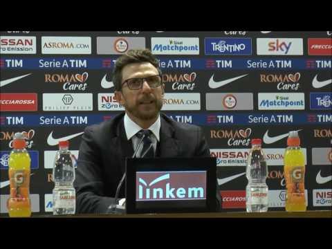 """Conferenza Di Francesco post Roma: """"Il futuro? Ho un accordo col Sassuolo di due anni con clausola"""""""