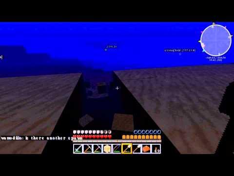 Underwater mining on Minecraft