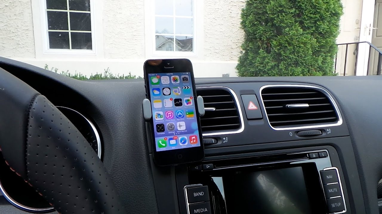 Universal car air vent cell phone holder 14