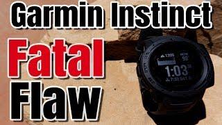 Garmin Instinct Tactical Mode