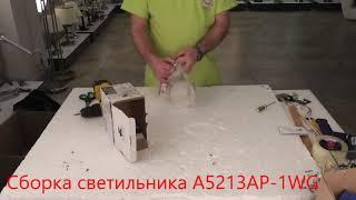 Бра ARTE Lamp A5213AP-1WG - видеообзор
