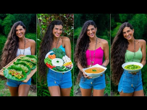 LAZY RAW FOOD DINNER IDEAS 🥬 Simple, Quick, Savory & Oil-Free Vegan Recipes