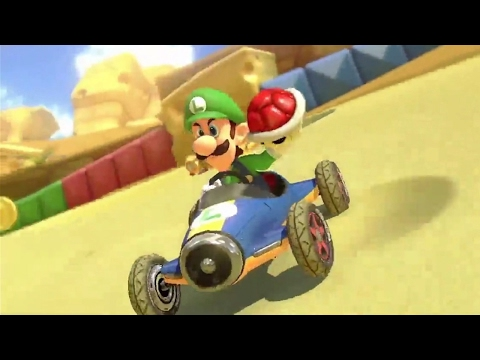 Let's Play the Cheese Land Course in Mario Kart 8 Deluxe - Up at Noon Live!