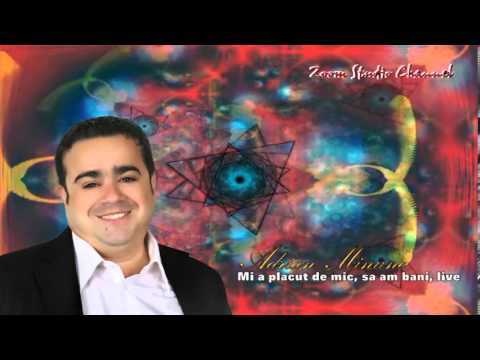 ADRIAN MINUNE  MI-A PLACUT DE MIC, SA AM BANI, LIVE, ZOOM STUDIO
