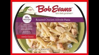 Bob Evans Roasted Alfredo Chicken Pasta Taste Test Review   JKMCraveTV