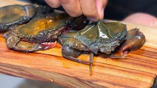 껍질째로 먹는 말랑말랑한 꽃게, 소프트 쉘 크랩