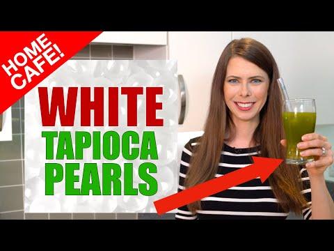Cooking White Tapioca