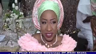 OTUNBA NIYI ADEBAYO'S SON WEDS IN LAGOS