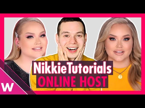 NikkieTutorials is online host and presenter of Eurovision 2020