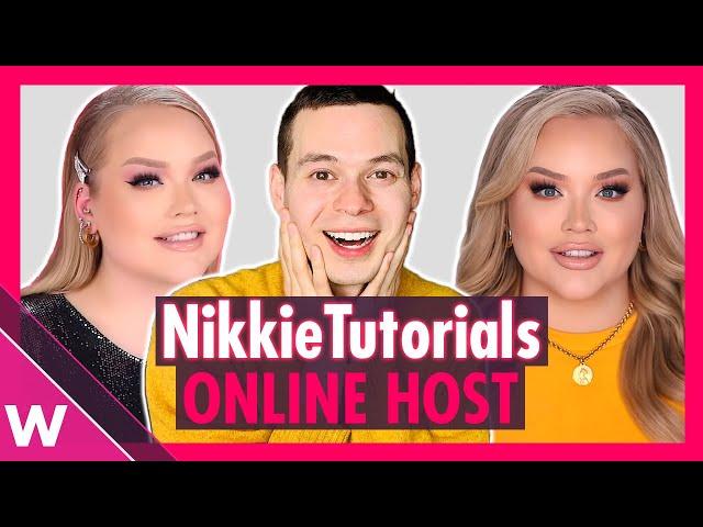 NikkieTutorials is online host and presenter of Eurovision 2020