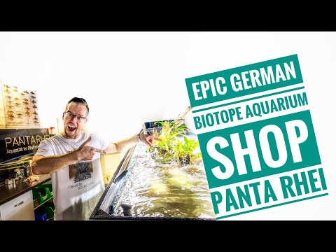 WORLD FAMOUS BIOTOPE AQUARIUM SHOP - Panta Rhei
