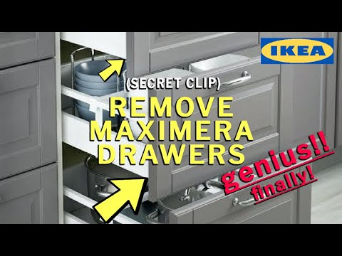 How to Remove IKEA Maximera Drawers