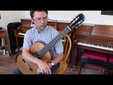 Lesson: How to Practice Scales on Classical Guitar