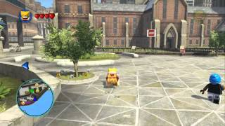 LEGO Marvel Super Heroes - Empire State University Dig Quest Gold Brick (Upper East Side)