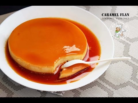Easy caramel custard recipe without oven