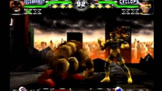X-Men: Mutant Academy 2 (PSone): Juggernaut PT