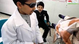 Pièce de théâtre : La maladie de Fatma classe quatrième année avec Mlle Amira