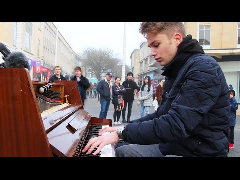 I played DANCE MONKEY on piano in public
