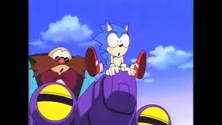 Sonic the Hedgehog OVA - Funny Moments with Cartoon SFX